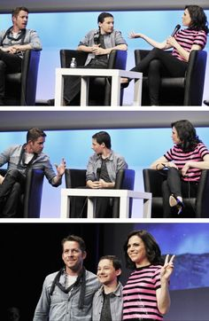 Sean, Jared & Lana at the Fairy Tales 2 Xivents - June 22, 2014