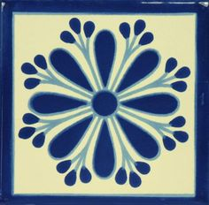 Our Mexican hand-painted ceramic tile Cruz De Luz 4 inch coaster sets & 6 inch trivet sets make the perfect gift for house warmings, birthdays and the holidays. Painting Ceramic Tiles, Stencil Painting, Tile Art, Ceramic Art, Ceramic Pottery, Design Seeds, Mexican Kitchen Decor, Mexican Ceramics, Border Tiles