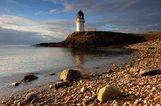ARNISH POINT Lighthouse, Isle of Lewis .Scotland