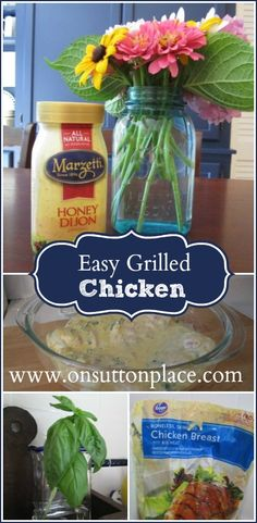 Easy Grilled Chicken ~ quick method perfect for a party. Turns out great every time!