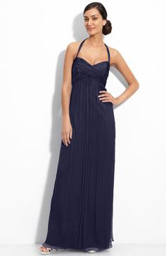 bridesmaids? simple, and if you like long dresses instead of short.