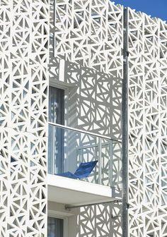 Nakâra 4* Residential Hotel, Cap d'Agde, 2015 - Jacques Ferrier Architecte