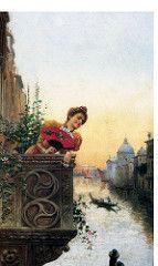 Jose Etxenagusiaren - Lady on the Balcony, Venice