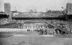 Opening Ceremony 1912 Stockholm Olympic Games