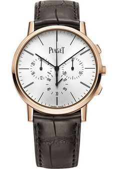 Piaget - Altiplano Ultra-Thin - Chronograph - 41 mm - Rose Gold Watch G0A40030