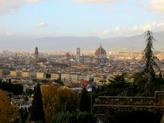 A view of Florence from San Miniato al Monte, the church just above Piazzale Michelangelo. Click the photo for 29 more things to do in Florence.