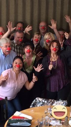 More Red Nose Prep with my LINQs buddies