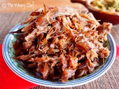 Slow Cooker Carnitas: The best thing to ever come out of my crockpot! by @TheWearyChef