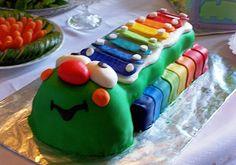 Birthday- Xylophone Birthday Cake