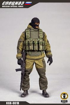 onesixthscalepictures: KGB Hobby RUSSIAN SPECIAL FORCE B : Latest product news for 1/6 scale figures (12 inch collectibles) from Sideshows Collectibles, Hot Toys, Medicom, TTL, Triad Toys, Enterbay and others.