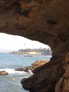 Biarritz, phare