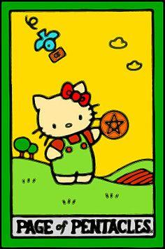 Hello, Kitty Tarot