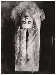 MAN RAY :: woman with long hair, 1929