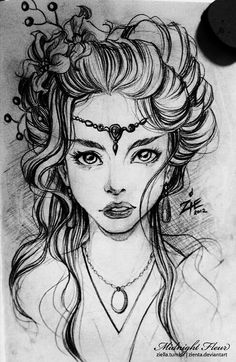 Luthien Tinuviel ✨✨As featured in J. R. R. Tolkien's The Silmarillion. Most fair, of angelic voice, brave, true, enchanting, she wrested the precious silmaril jewel from the crown and her lover from the clutch of the ultimate evil lord. Our Lady of Love Everlasting.