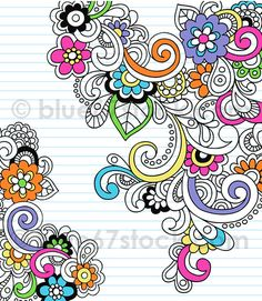 Illustration about Hand-drawn Psychedelic Abstract Notebook Doodles Vector Illustration- on Graph (Grid) Paper Background. Illustration of curls, groovy - 11045769 Doodle Art, Tangle Doodle, Zen Doodle, Doodle Drawings, Paisley Doodle, Floral Doodle, Flower Drawings, Floral Drawing, Doodles Zentangles