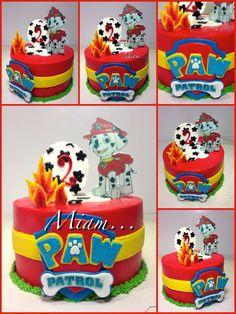 design cake pat patrouille ou paw patrol