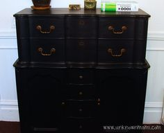 How to refinish furniture without sanding. #LowesCreator