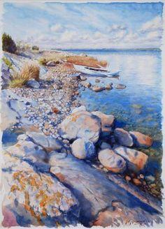Akvarell | Jan Abramsson, Sturkö