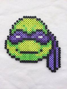 Donatello Perler Bead Sprite