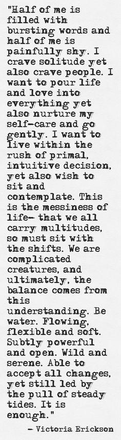 A perfect description. ~ETS #complexities #juxtapositions