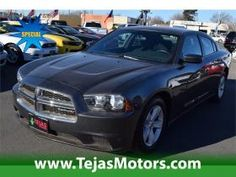 2013 Dodge Charger 4DR SDN SE RWD at Tejas Motors in Lubbock Texas