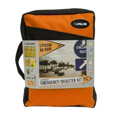 @Overstock - Be prepared if a disaster hits by using this 48-hour emergency kit from Lifeline First Aid. This polyester carry case includes supplies to keep you nourished and warm.   http://www.overstock.com/Emergency-Preparedness/Lifeline-1-Person-48-Hour-Essential-Emergency-Disaster-Kit/7536670/product.html?CID=214117 $36.99