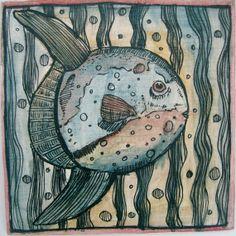 Bild...Fisch... von MizumiART auf Etsy, $7.00