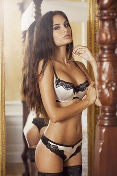 Proud Girl in lingerie