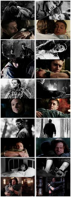 [gifset] Winchester Brothers #SPN #Dean #Sam I need the hugs!