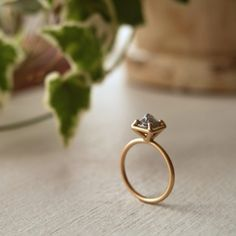 Raw Diamond Engagement Ring Raw Diamond Engagement Rings, High Contrast, I Love Jewelry, Silver Rings, Rough Diamond, Stones, Jewlery