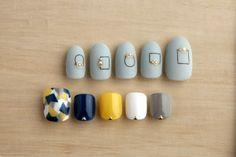 【ハンド&フットネイル】ジェルオフ込! モード系オシャレ女子ネイル Feet Nails, My Nails, Hair And Nails, 3d Nail Art, Nail Arts, Aloha Nails, Feet Nail Design, Manicure Y Pedicure, Pedicures