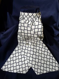 Dressage Stock Tie EQUITIQUE eventing traditional style Navy and white lattice cubbing HORSE Riding show clothes stock ties stocks stockties