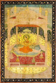 TripuraSundari, Guler. Nainsukh. 1835
