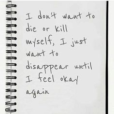 I feel like this all the time. I doubt I'll ever get better. Do you feel the same. ~B / #depressed #depressedquotes #depression #sad #tired #quotes #quotesaboutlife #quotesaboutlove #acceptance #thoughts #opinions #feelings #blackandwhite #newaccount #grunge // #Regram via @living.with.my.thoughts)