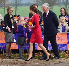 New home: The event was held at the Norfolk Showground, which is just a few miles from the Duchess' new home at Anmer Hall