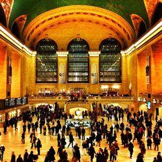 Grand Central Terminal in New York, NY. Самые красивые вокзалы мира.