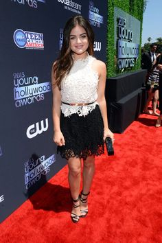 #LucyHale: Lovely In Lace At 2013 Young HollywoodAwards held @ #TheBroadStage in Santa Monica, CA on Aug 1, 2013 http://celebhotspots.com/hotspot/?hotspotid=6531&next=1