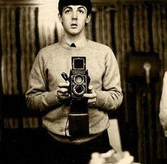 """Well ya know I created the selfie""-Paul McCartney"