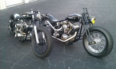 Bobber Inspiration | Shovelhead bobbers | Bobbers and Custom Motorcycles