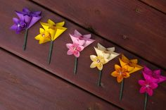 Paper Flower Boutonniere by MyArteasure on Etsy, $7.00