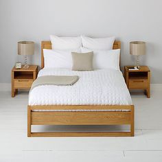 Buy John Lewis Florence Origami Cotton Bedding, Square pillowcase from our Duvet Covers range at John Lewis.