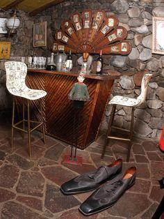Pablo Neruda's house in Santiago, La Chascona