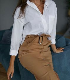 Secrets of style: We make a fashionable wardrobe for every day Office Fashion, Work Fashion, Fashion Looks, Fashion Design, Classy Outfits, Casual Outfits, Fashion Outfits, Womens Fashion, Casual Attire