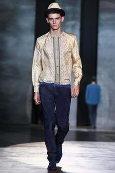 Iceberg Spring Summer Menswear 2013 via http://nowfashion.com
