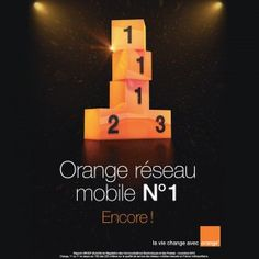 Orange réseau n°1, encore!  clap clap clap  #orange #reseau #mobile   rapport arcep Nov 2012