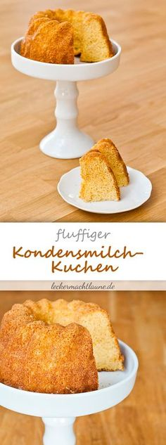 Kondensmilch-Kuchen {fluffiger rührkuchen}