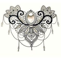 Image result for lace tattoo designs