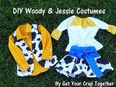DIY Woody and Jessie Costumes
