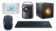 Wednesdays Top Deals: Logitech Gold Box Nebula Mars Projector Sensi Thermostat and More