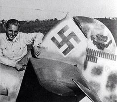 """Erich Alfred Hartmann nicknamed """"Bubi"""" and """"The Black Devil"""" (by his Soviet adversaries) was a German fighter pilot during World War II and is the highest-scoring fighter ace in the history of aerial warfare."""